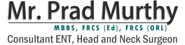 Mr. Prad Murthy - ENT Doctor Manchester, Consultant of ENT, Head and Neck Surgeon